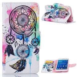 Windmill Leather Wallet Case for Samsung Galaxy Grand Prime G530 G530H