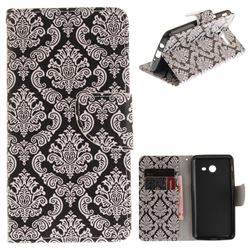 Totem Flowers PU Leather Wallet Case for Samsung Galaxy J5 2017 J530