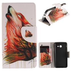 Color Wolf PU Leather Wallet Case for Samsung Galaxy J5 2017 J530