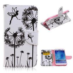 Dandelion Angel Leather Wallet Case for Samsung Galaxy J7 J700F J700H J700M