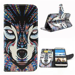 Wolf Leather Wallet Case for HTC One M9