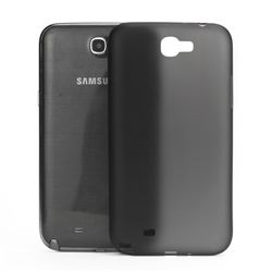 Frosted Ultra-Thin 0.4mm Hard Case for Samsung Galaxy Note 2 / Note II N7100 Case - Black
