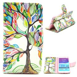 The Tree of Life Leather Wallet Case for Samsung Galaxy Note 4 N910