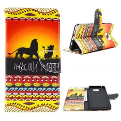 Prairie Lion Leather Wallet Case for Samsung Galaxy Note 5