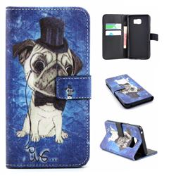 Dr. Dog Leather Wallet Case for Samsung Galaxy Note 5