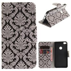 Totem Flowers PU Leather Wallet Case for Huawei P8 Lite 2017 / P9 Honor 8 Nova Lite