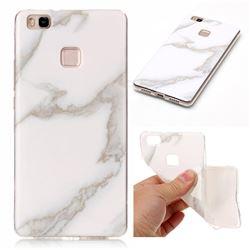 Jade White Soft TPU Marble Pattern Case for Huawei P9 Lite P9lite