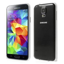 LOVE MEI Brand Aluminium Metal Bumper for Samsung Galaxy S5 - Silver