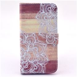 Lace Mandala Leather Wallet Case for Samsung Galaxy S5 G900