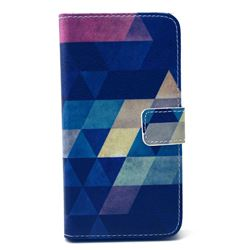 Rhombus Tribal Leather Wallet Case for Samsung Galaxy S6 G920