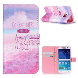 Amazing Things Leather Wallet Case for Samsung Galaxy S6 G920 G9200