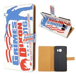 Grimes & Dixon Leather Wallet Case for Samsung Galaxy S6 Edge G925