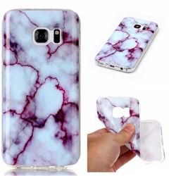 Bloody Lines Soft TPU Marble Pattern Case for Samsung Galaxy S7