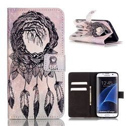 Campanula Trees Leather Wallet Case for Samsung Galaxy S7 Edge G935
