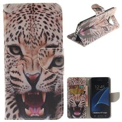 Puma PU Leather Wallet Case for Samsung Galaxy S7 Edge s7edge