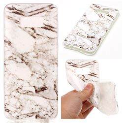 White Soft TPU Marble Pattern Case for Samsung Galaxy S8 Plus S8+