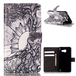 Old Tree of Life Leather Wallet Case for Samsung Galaxy A3 2016 A310