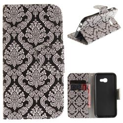 Totem Flowers PU Leather Wallet Case for Samsung Galaxy A3 2017 A320