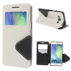 Roar Korea Diary View Leather Flip Cover for Samsung Galaxy A5 A500 A500F A5009 - White