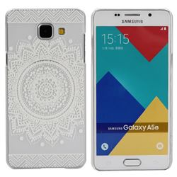 Lace Flower Painting Plastic Case for Samsung Galaxy A5 2016 A510 A510F
