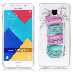 Macaron Super Clear Soft TPU Back Cover for Samsung Galaxy A5 2016 A510
