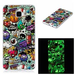 Trash Noctilucent Soft TPU Back Cover for Samsung Galaxy A5 2016 A510