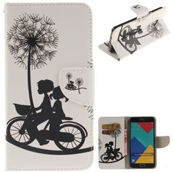 Cycling Dandelion PU Leather Wallet Case for Samsung Galaxy A5 2016 A510