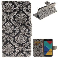 Totem Flowers PU Leather Wallet Case for Samsung Galaxy A7 2016 A710