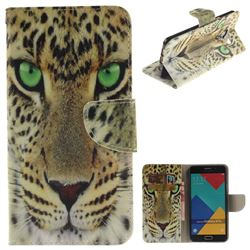 Yellow Tiger PU Leather Wallet Case for Samsung Galaxy A7 2016 A710