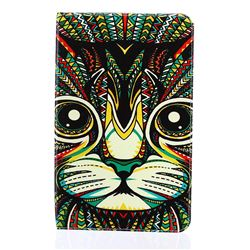 Cat Folio Stand Leather Wallet Case for Samsung Galaxy Tab E 9.6 T560 T561