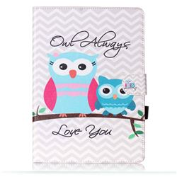Owls Always Love You Folio Flip Stand Leather Wallet Case for Samsung Galaxy Tab S2 9.7 T810 T815 T819 T813N