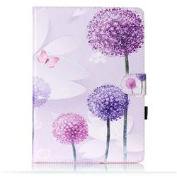 Purple Dandelion Folio Flip Stand Leather Wallet Case for Samsung Galaxy Tab S2 9.7 T810 T815 T819 T813N