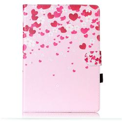 Love Flowers Folio Flip Stand Leather Wallet Case for Samsung Galaxy Tab S2 9.7 T810 T815 T819 T813N