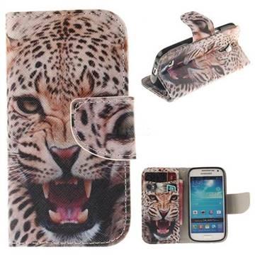 Puma PU Leather Wallet Case for Samsung Galaxy S4 Mini i9190