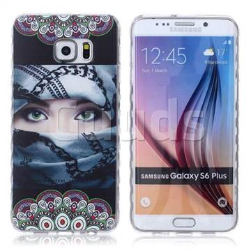 samsung galaxy s6 phone cases for girls. arab girl painted non-slip tpu back cover for samsung galaxy s6 edge plus phone cases girls s