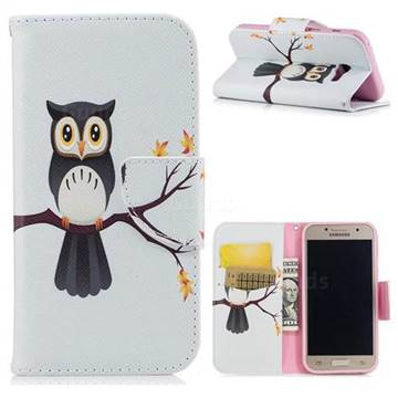 Owl on Tree Leather Wallet Case for Samsung Galaxy A3 2017 A320
