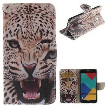 Puma PU Leather Wallet Case for Samsung Galaxy A7 2016 A710