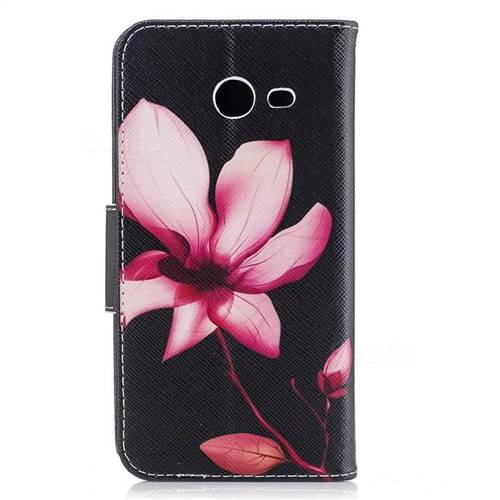Lotus Flower Leather Wallet Case for Samsung Galaxy J5 2017 J530