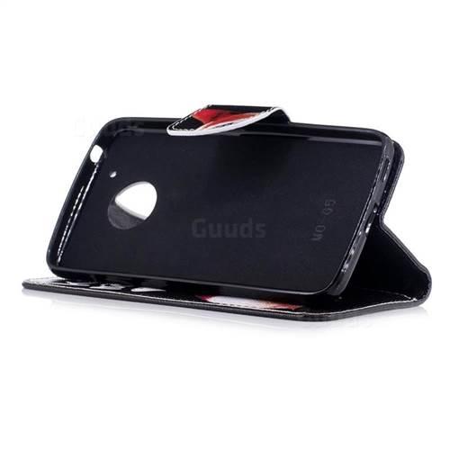 Lovely Pig Ass Leather Wallet Case for Motorola Moto G5