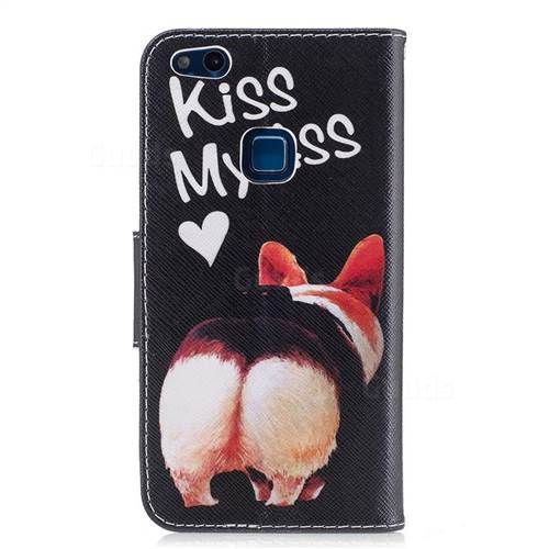 Lovely Pig Ass Leather Wallet Case for Huawei P10 Lite P10Lite
