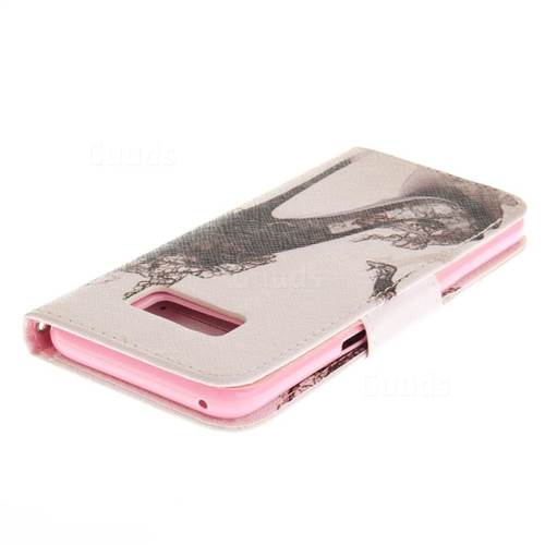 High Heels PU Leather Wallet Case for Samsung Galaxy S8 Plus S8+