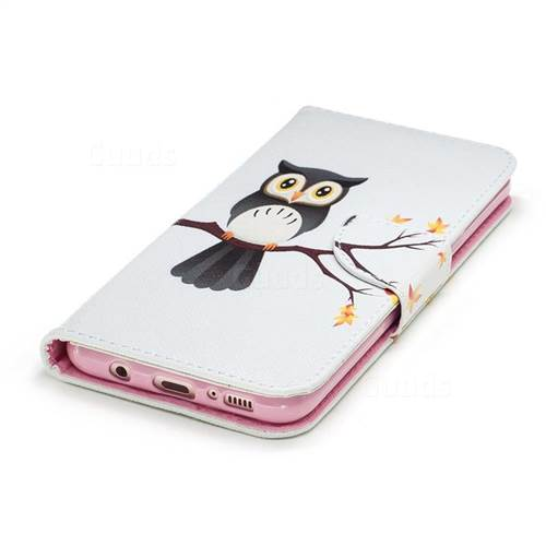 Owl on Tree Leather Wallet Case for Samsung Galaxy S8 Plus S8+