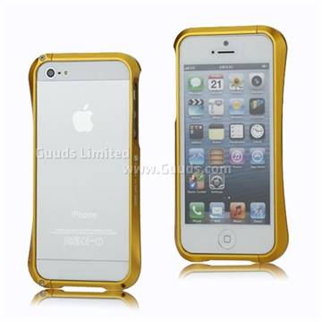 iphone 5s gold case. aluminum bumper case for iphone 5 - gold iphone 5s