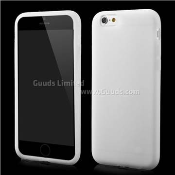 soft silicone case for iphone 6 6s 4 7 inch grey. Black Bedroom Furniture Sets. Home Design Ideas