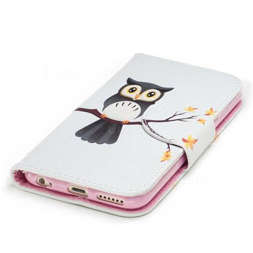 Owl on Tree Leather Wallet Case for iPhone 6s 6 6G(4.7 inch)