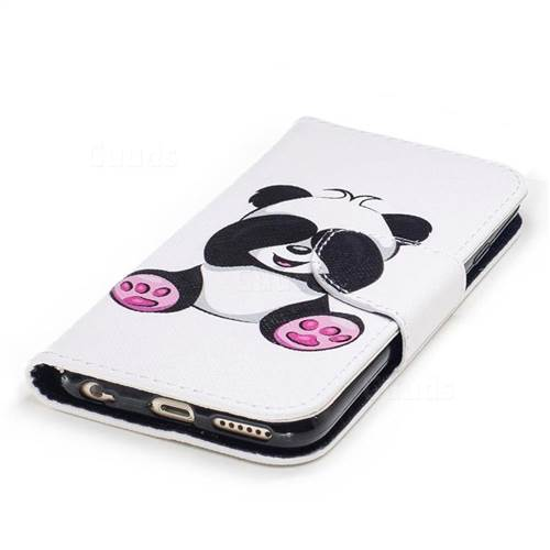 Lovely Panda Leather Wallet Case for iPhone 6s 6 6G(4.7 inch)