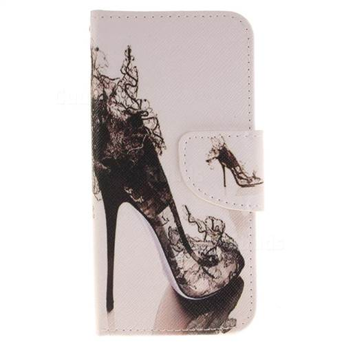 High Heels PU Leather Wallet Case for iPhone 7 7G(4.7 inch)