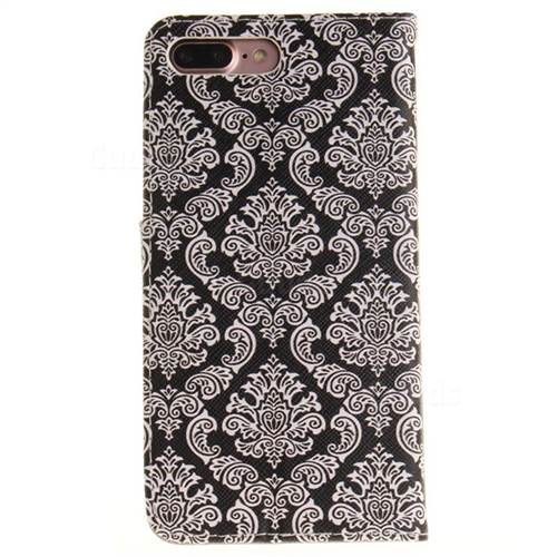 Totem Flowers PU Leather Wallet Case for iPhone 7 Plus 7P(5.5 inch)
