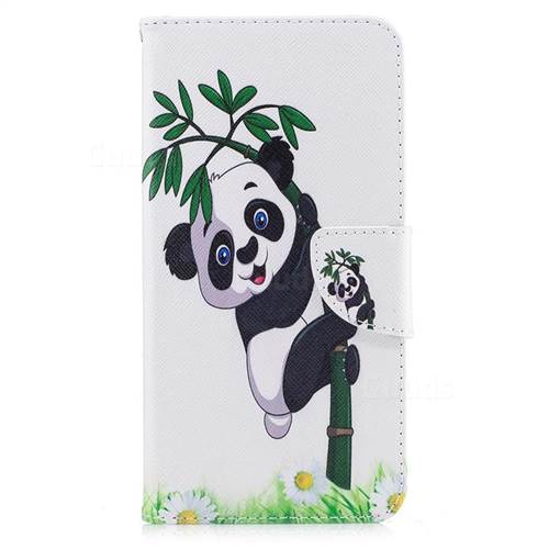 Bamboo Panda Leather Wallet Case for iPhone 7 Plus 7P(5.5 inch)