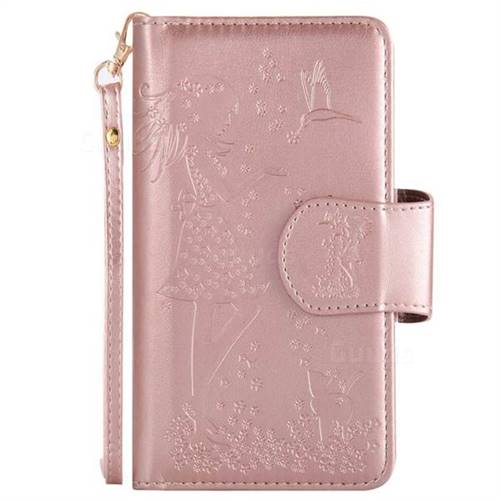 iphone 5s gold case for girls. embossing cat girl 9 card leather wallet case for iphone x(5.8 inch) - iphone 5s gold girls